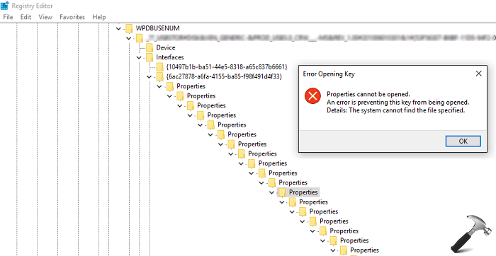 """[FIX] """"An Error Is Preventing This Key From Being Opened"""" For Registry Editor"""