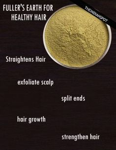 Hair Wash With Multani Mitti Fuller S Earth Hair Pinterest