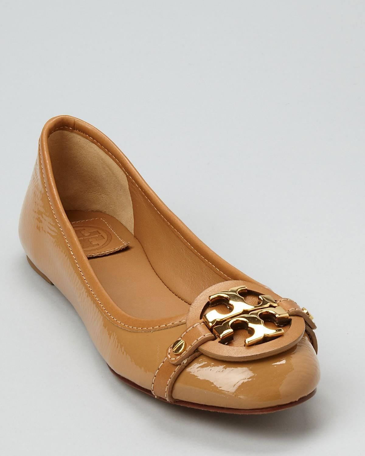 33360645258 Tory Burch Aaden Ballet Flats - love these  wouldn t they be perfect with a  navy blazer and jeans