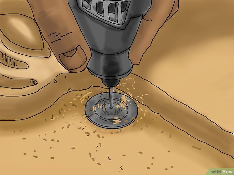 how to engrave wood with dremel