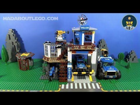 Lego Mountain Police Dirt Road Pursuit 60172 Building Lego