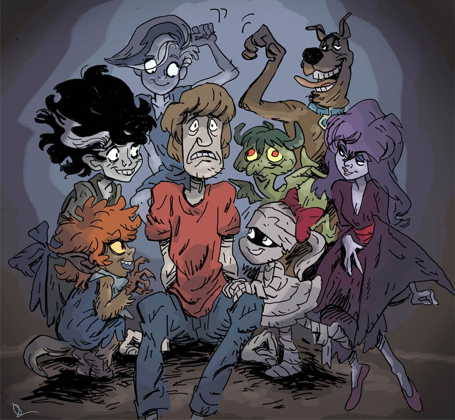 Shag and the Ghoul School by https//theintrovert