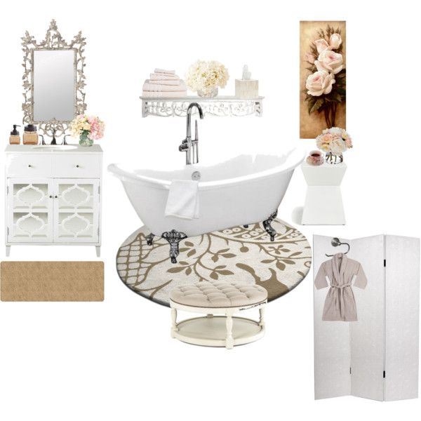 Restroom Heaven By Amazing-yessi On Polyvore Featuring