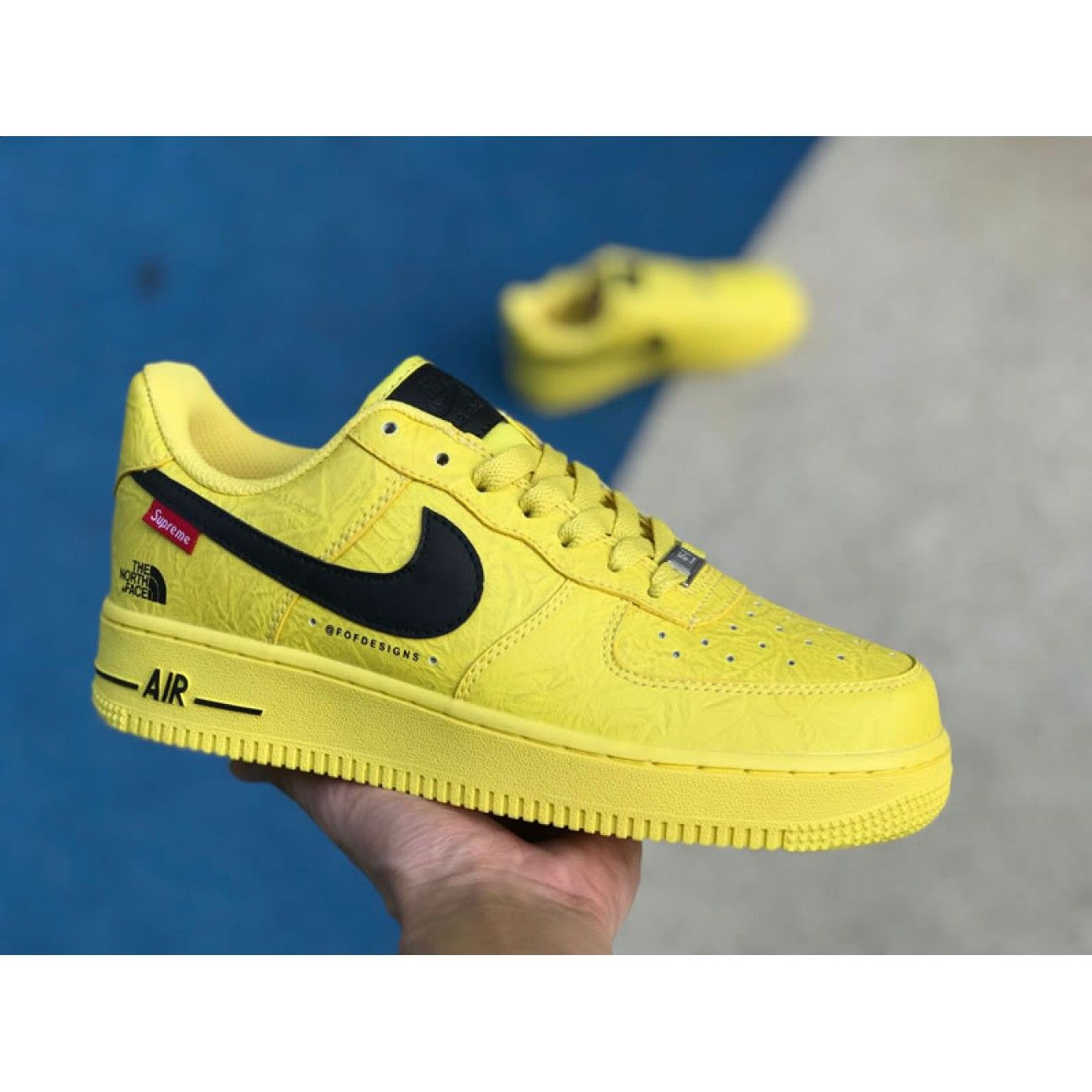 x The North Face x Nike Air Force 1 Sup
