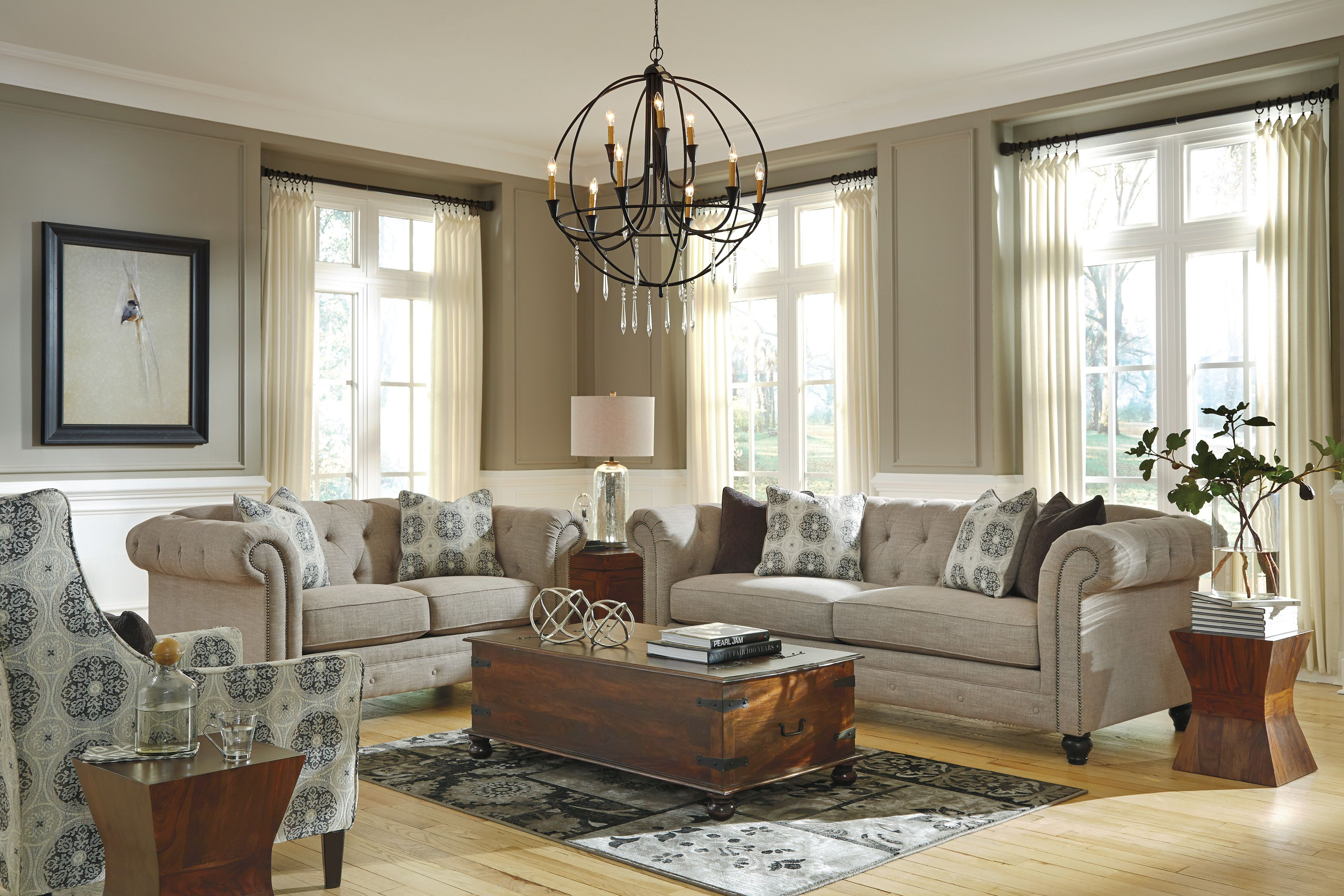 The Perfect Affordable Living Room Sofa The Azlyn Sofa By Ashley