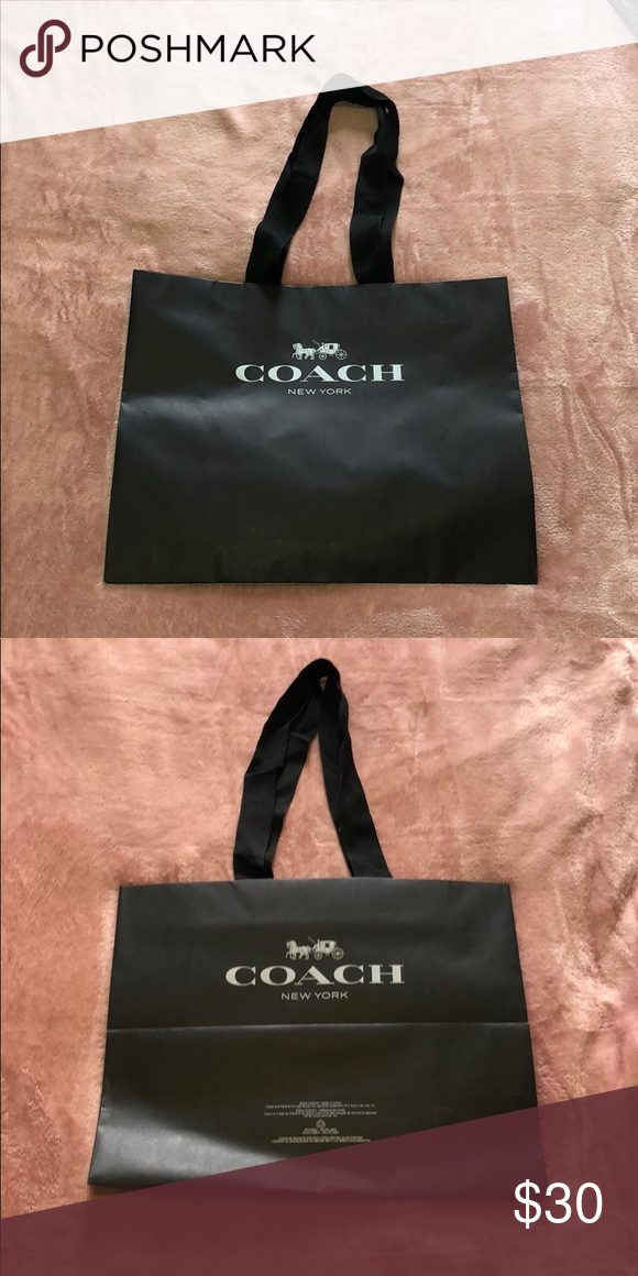 Coach New York Reusable Recyclable Bag Coach New York Bags Recycle Bag