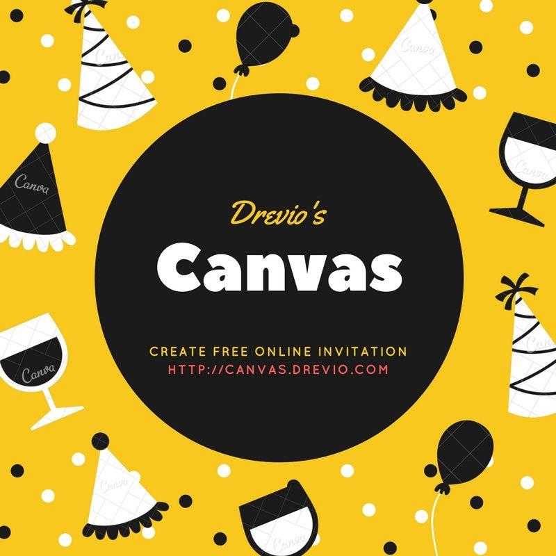 Get online invitation maker drevio canvas free printable get online invitation maker drevio canvas filmwisefo