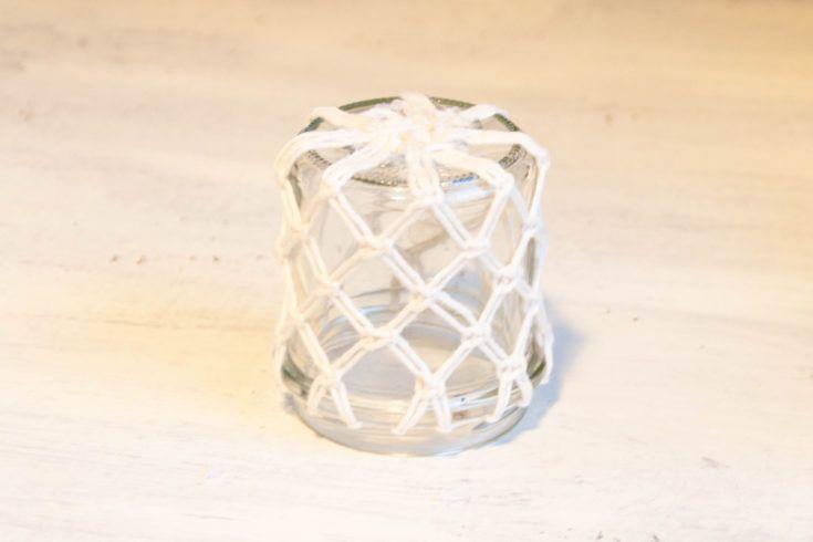 DIY Makramee-Windlichter mit Schritt-für-Schritt-Anleitung - ChaosMitStil #kreativehandwerke