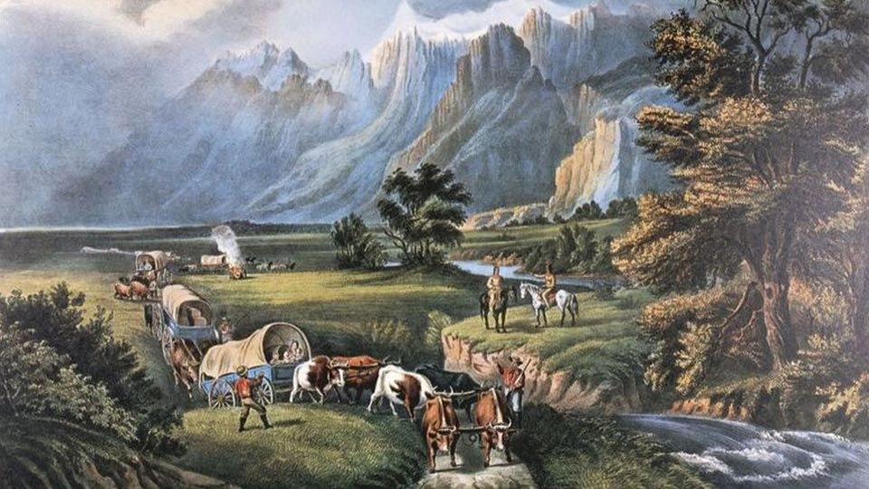 Manifest destiny westward expansion caused many problems for Why do people move to la