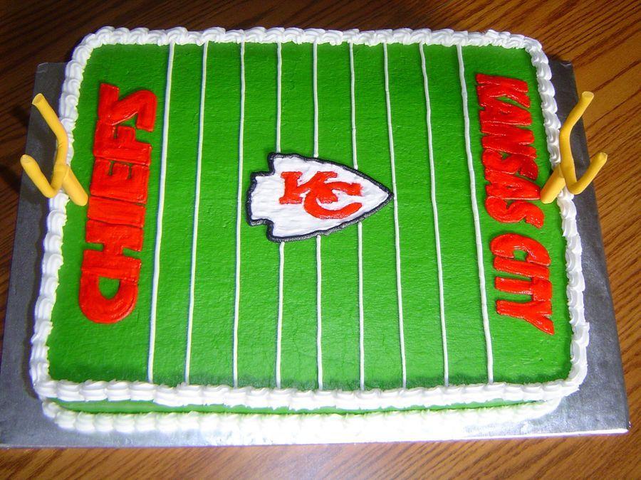 Kansas City Chiefs Cake With Images Kansas City Chiefs
