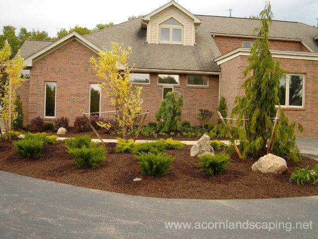 Front Yard Walkways #2 - No Grass Front Yard Landscaping ... on Non Grass Backyard Ideas id=25742