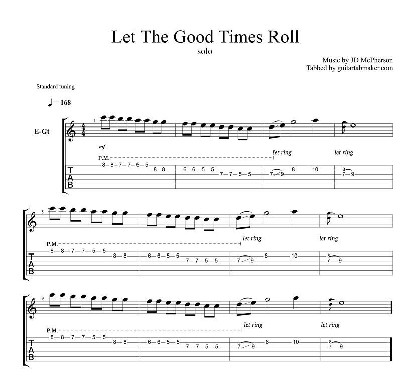 let the good times roll solo tab pdf guitar tab guitar pro tab download electric guitar so. Black Bedroom Furniture Sets. Home Design Ideas