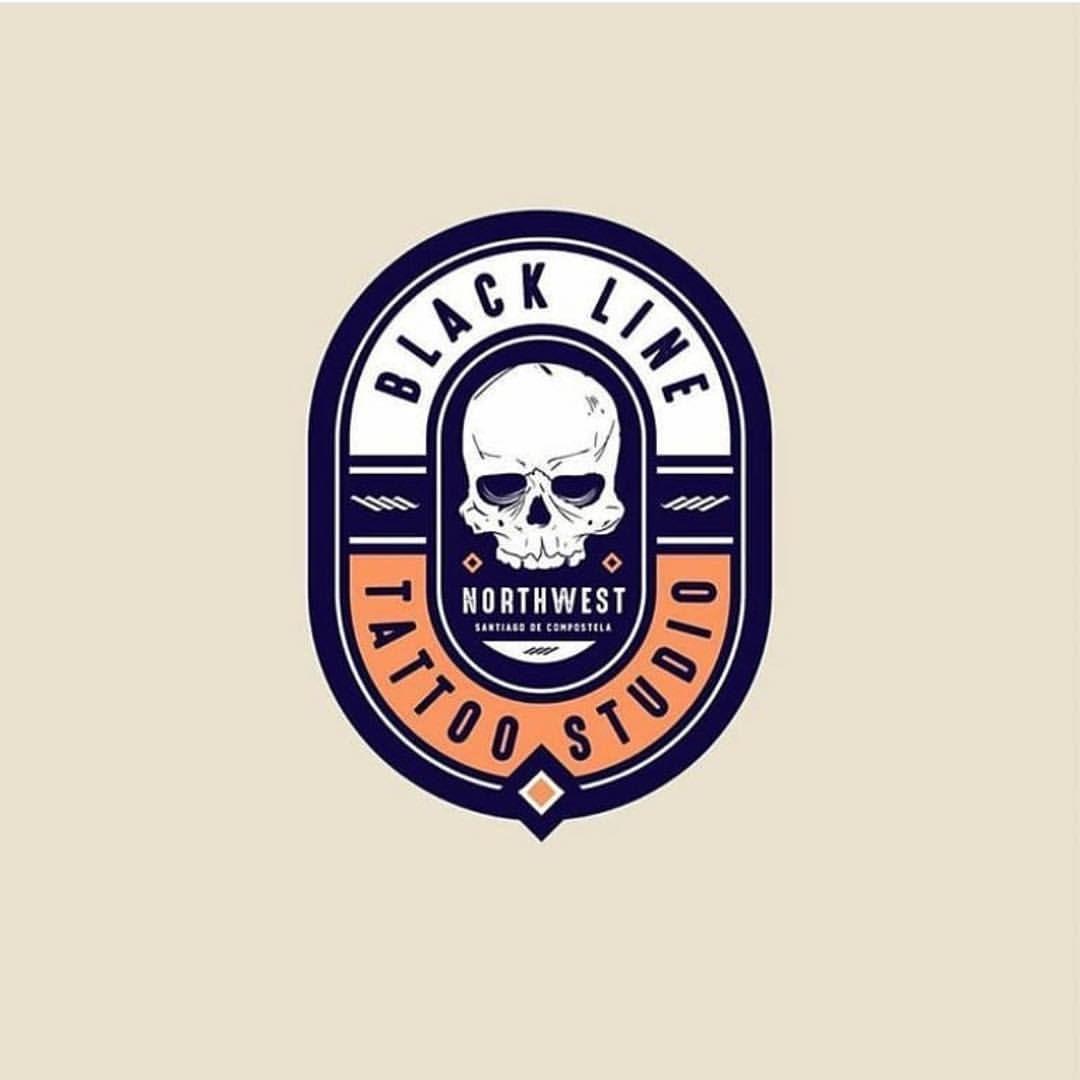 Logo Inspirations On Instagram Black Line Tattoo Studio By