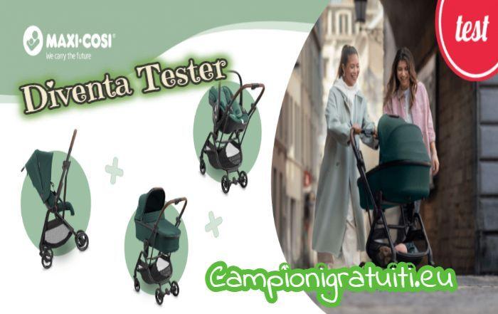 Diventa Tester Trio Leona Maxi-Cosi con Mamma Che Club