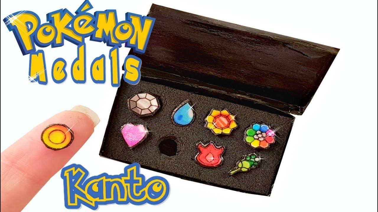 Diy miniature pokemon medals tutorial crafts craft