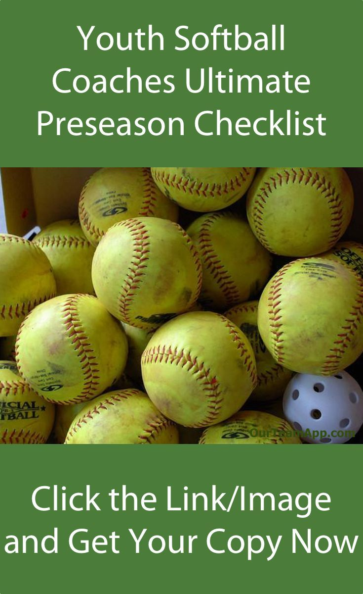 Youth Softball Coaches Grab The Free Download Now Youth Softball Softball Coach Softball