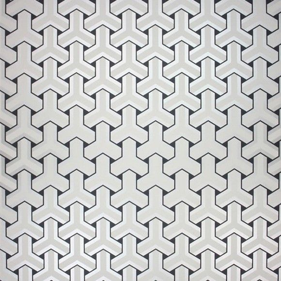 papier peint trifid   papier peint, papier peint géométrique et