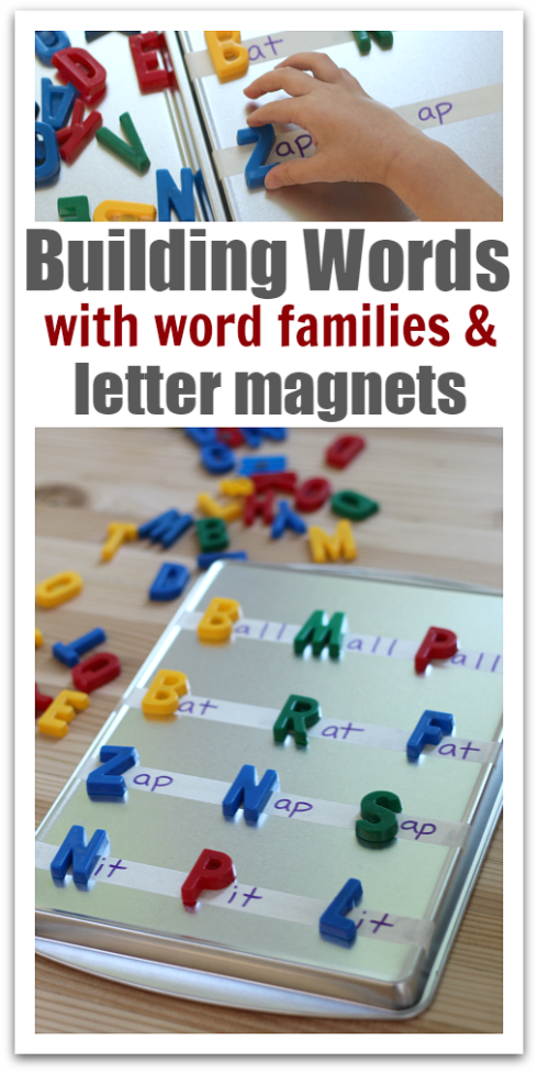Word Building With Letter Magnets & Word Families   20 Must Follow ...