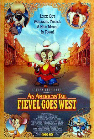 فيلم An American Tail Fievel Goes West 1991 مترجم An American Tail Animation Film Kids Movies