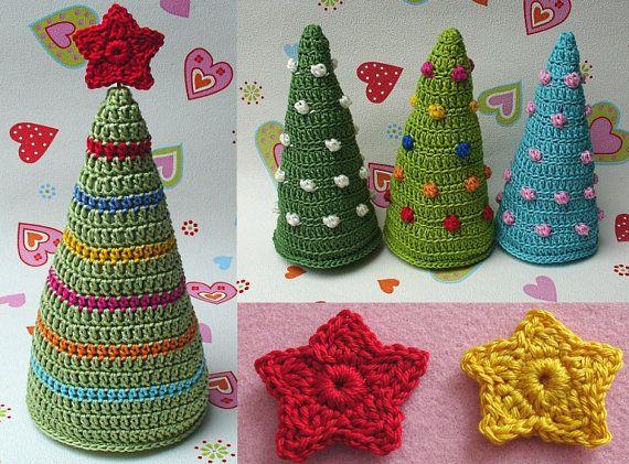 Tannenbaum Christmas tree crochet pattern | Crochet | Pinterest ...
