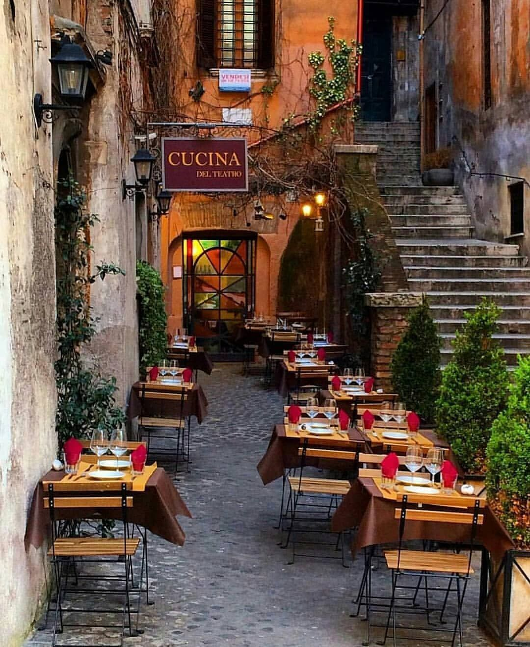 Cucina Osteria Rome Couldn T Resist Posting This Gorgeous Image Of Cucina Del Teatro