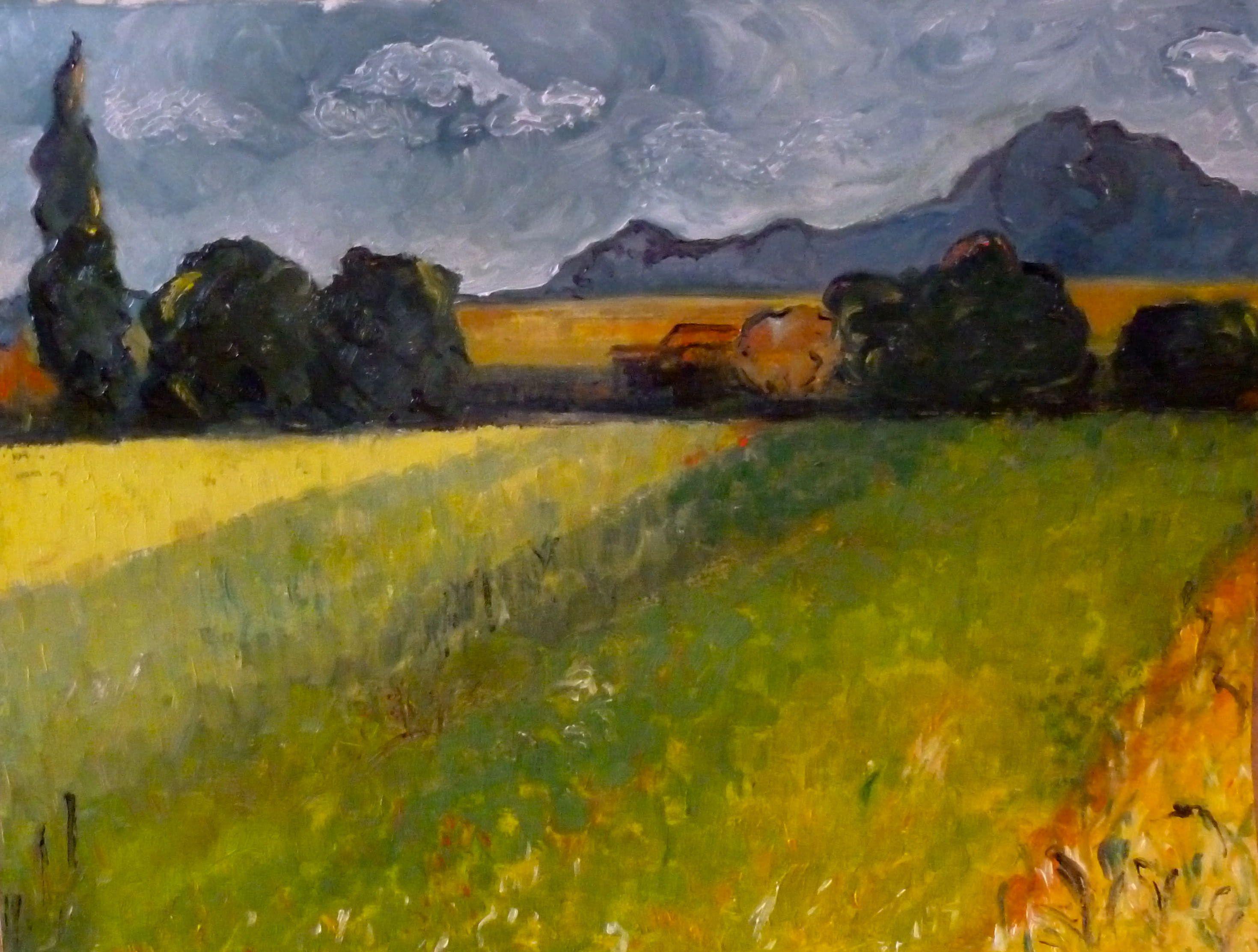 Landscape Paintings By Van Gogh A Landscape Van Gogh Would Landscape Paintings Van Gogh Gogh