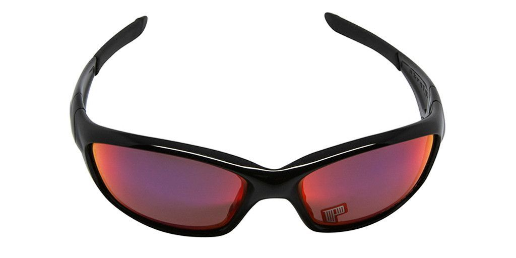 27417eb409 OAKLEY STRAIGHT JACKET 26-236 Polished Black   OO Red Iridium Polarized