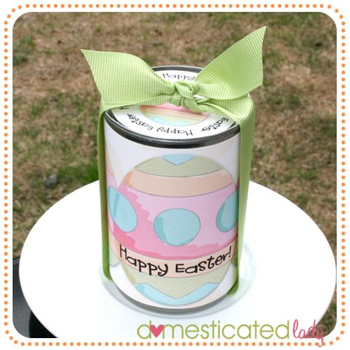Easter soup can treat container going to make these for the easter soup can treat container going to make these for the nieces and nephews this negle Image collections
