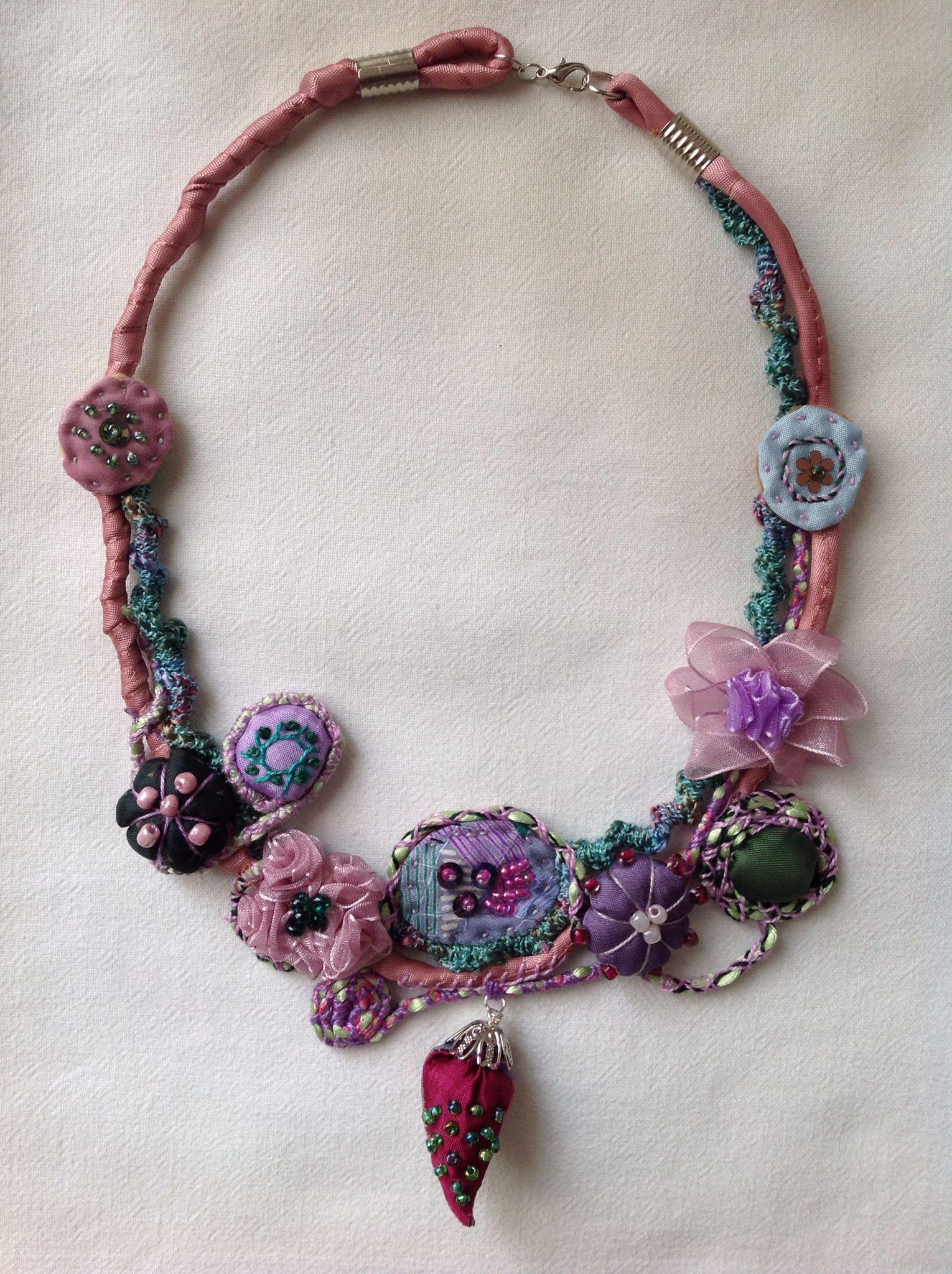 Necklace 09. by Marinela Kozelj | My Necklaces | Pinterest ...