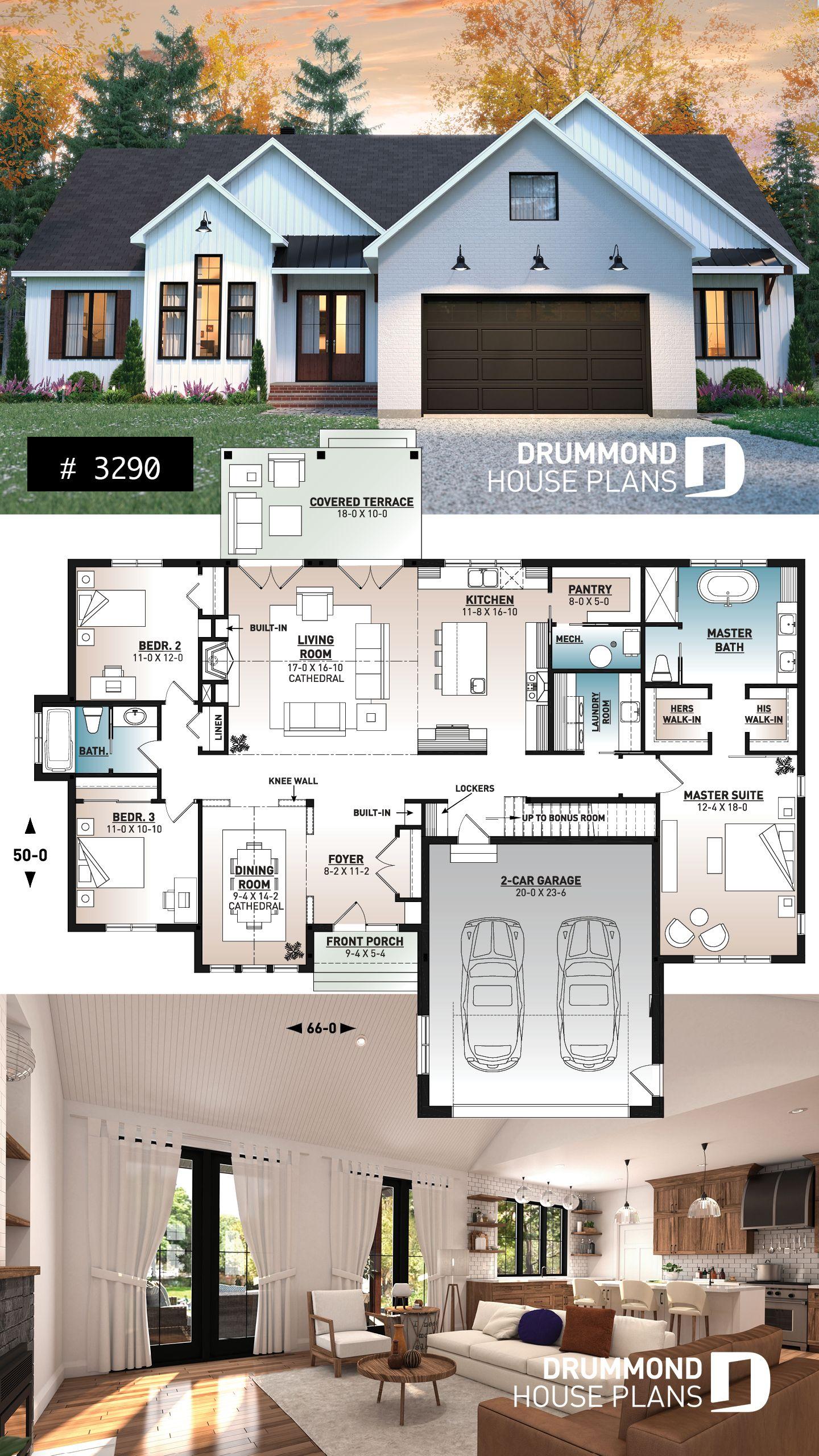 Modern Farmhouse House Plan My House Plans House Plans Farmhouse New House Plans