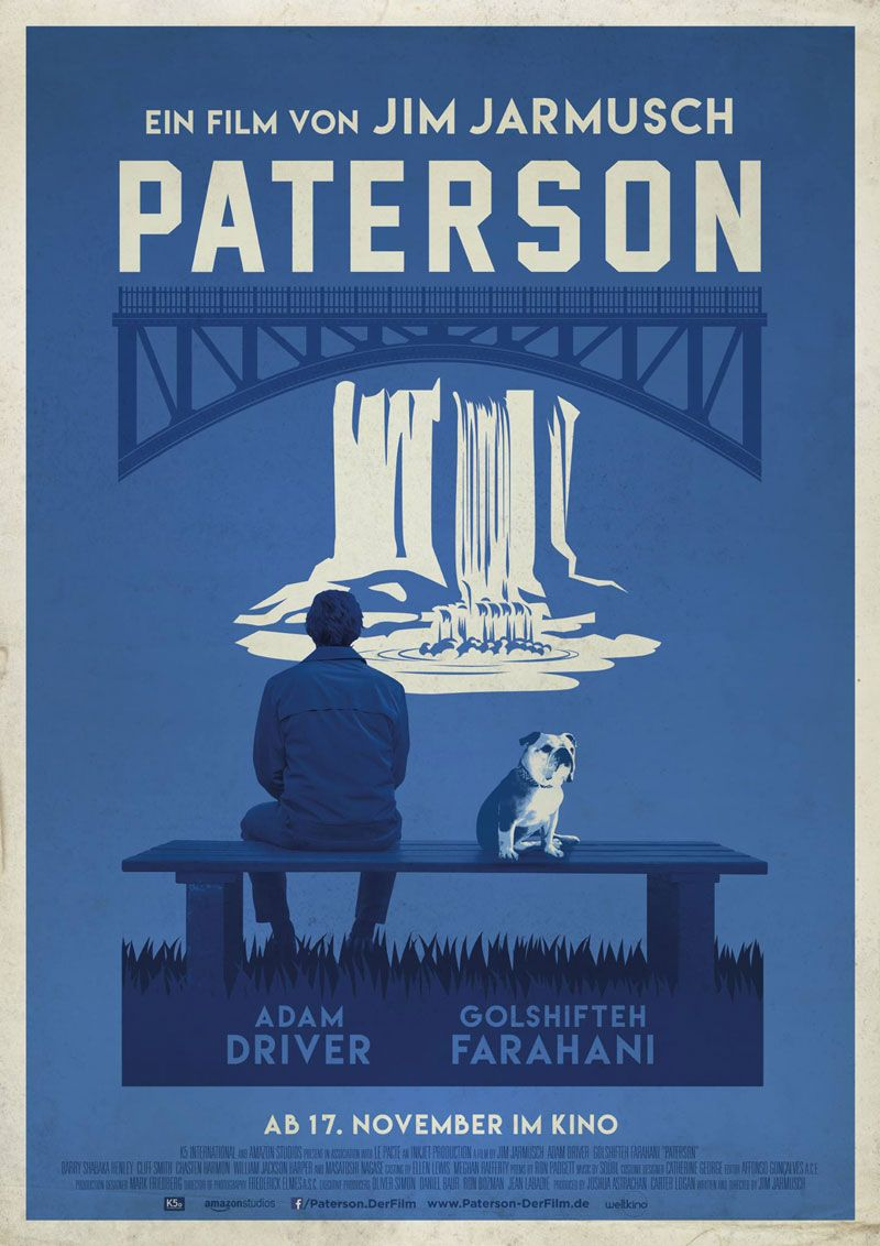 German poster for PATERSON (Jim Jarmusch, USA, 2016) Designer: TBD ...