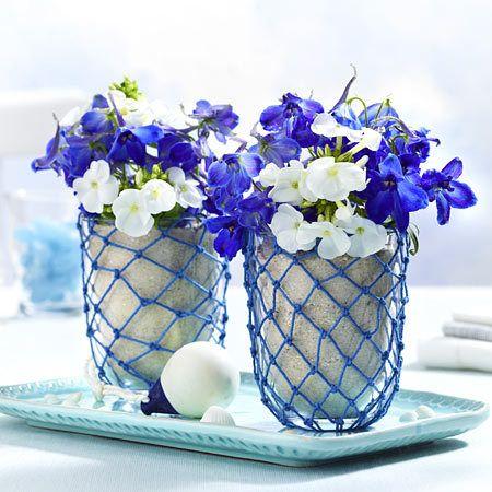 maritime tischdeko ideen in blau wei maritime tischdeko pinterest tischdeko ideen. Black Bedroom Furniture Sets. Home Design Ideas