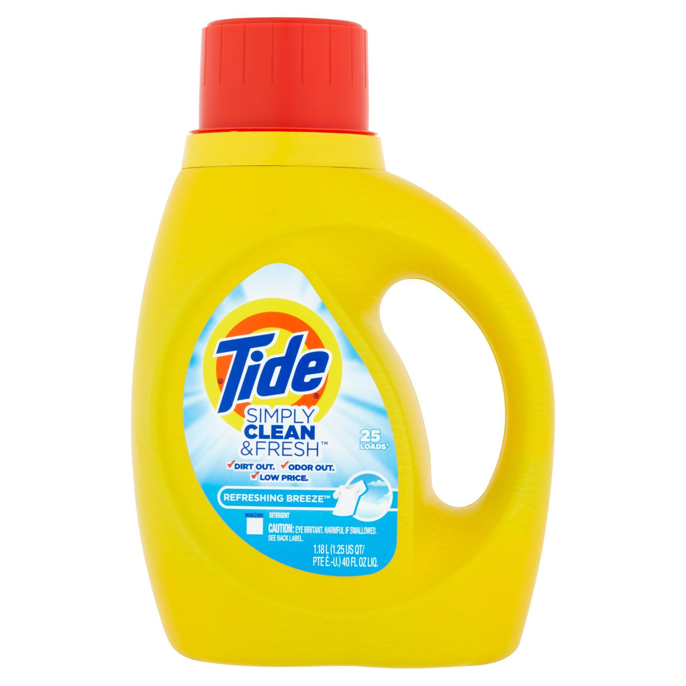 Tide Simply Clean And Fresh Refreshing Breeze Scent 40 Oz 2 95
