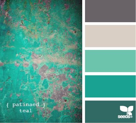 Spring Wedding Colors | teal emerald spring 2013 wedding color palette