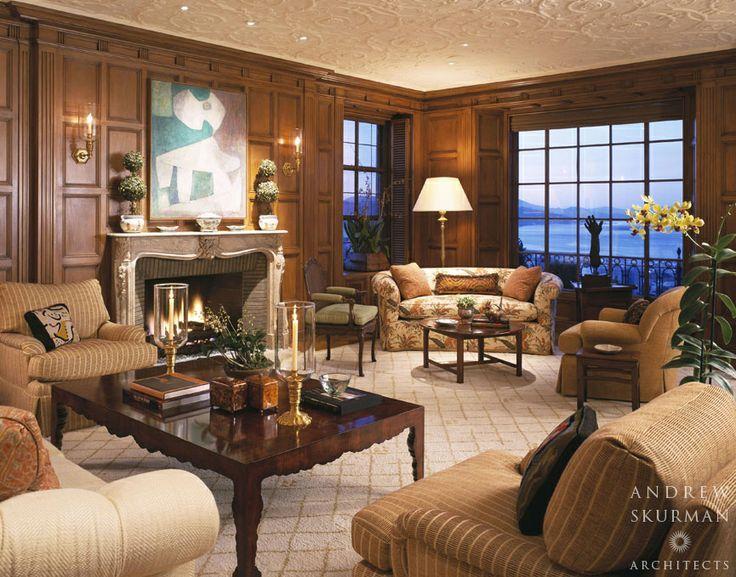Living Room Wood Paneling Decorating Ideas Sensation Modern