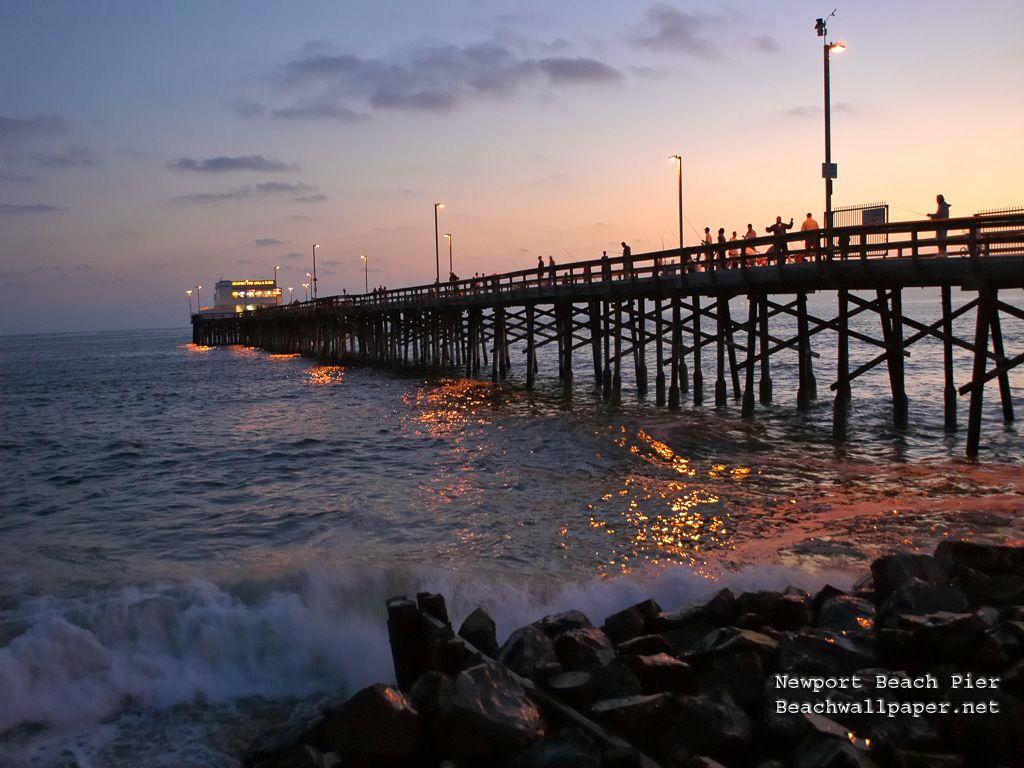 Newport Beach Pier Wallpape Jpg 1024 768 Pixels Newport Beach Pier Newport Beach California Newport Beach