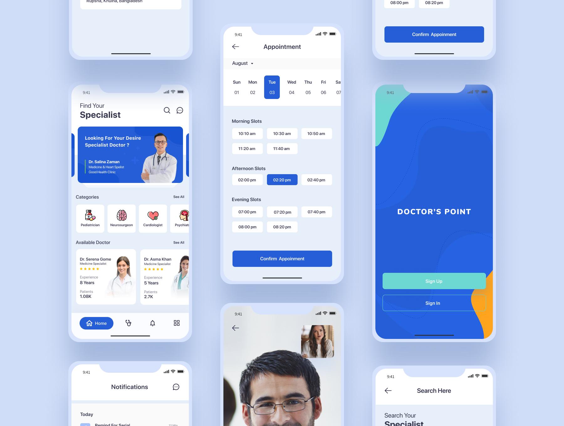 Bootstrap 4 Based Medical App Html Template Html Template Paid Medical Ad Based Bootstrap Template Medical App App Interface Design Health App