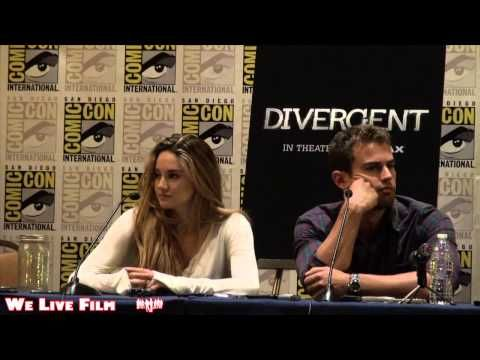 Divergent (2014) - San Diego Comic Con Press Conference Part Two