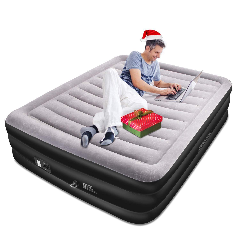 Spreey Air Mattress Air Bed Built In Electric Pump Air Bed Air Mattress Inflatable Mattress