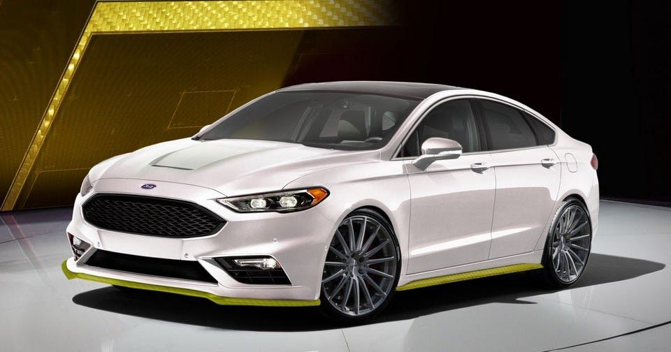 Two Custom Ford Fusion Sports Heading To Sema W Video New Cars