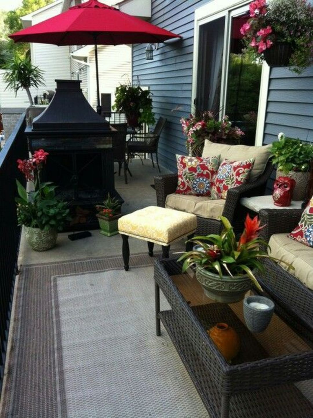 Top 10+ Beautiful Deck Decorating Ideas for Summer 2018 ...