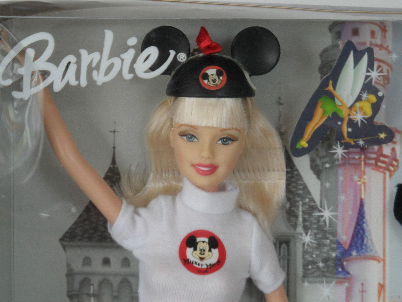 DISNEY BARBIE 50TH ANNIVERSARY THEME PARKS DOLL MATTEL MICKEY MOUSE ...