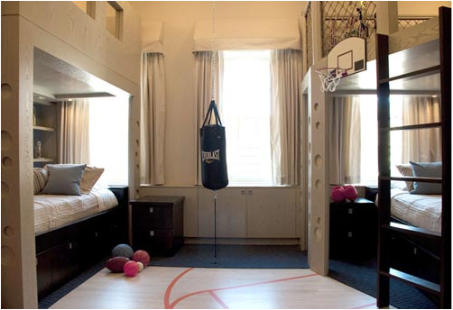Key Interiors By Shinay: Teen Boys Sports Theme Cool Dorm Room Ideas For  Guys