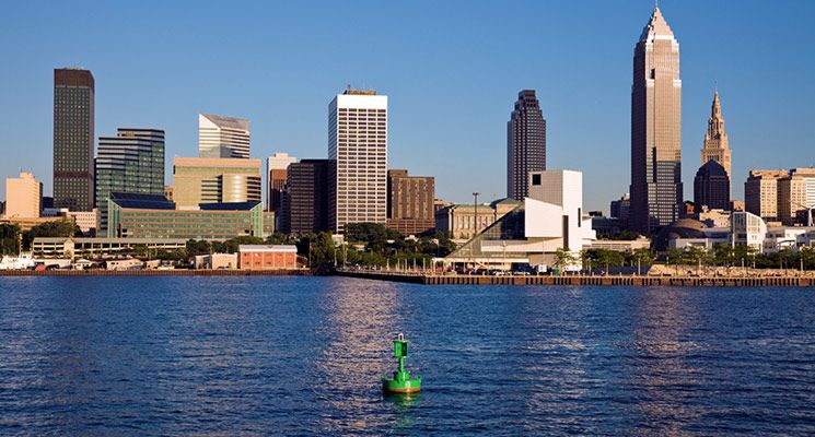 Lake Erie Places To Boat Downtown Cleveland Cleveland Lake Erie