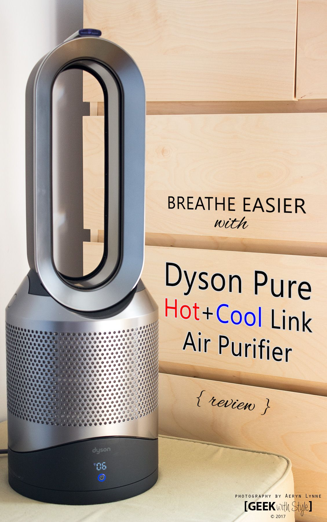 Breathing City Air, and How the Dyson Pure Hot+Cool Link
