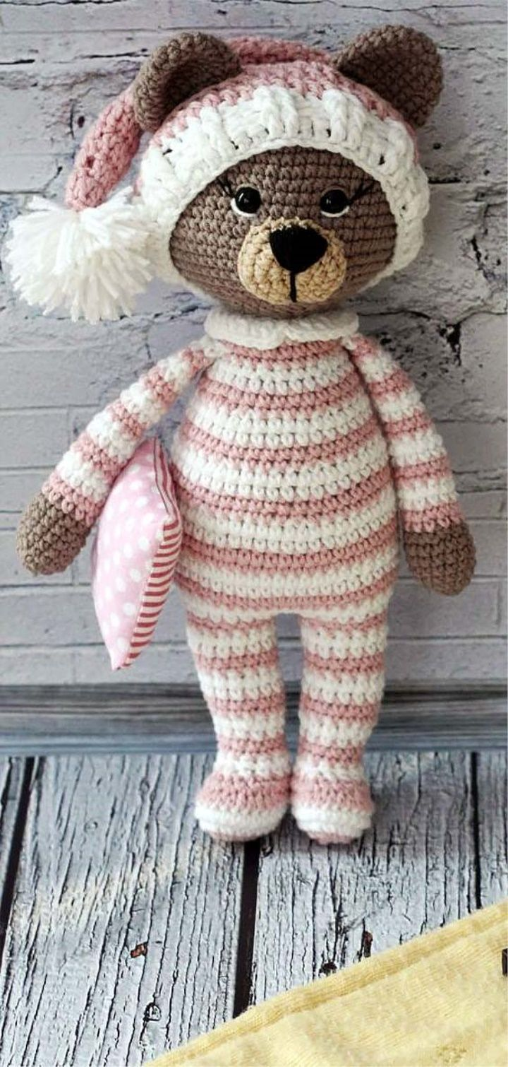 Crochet Bear Video Tutorial - YouTube | 1510x720