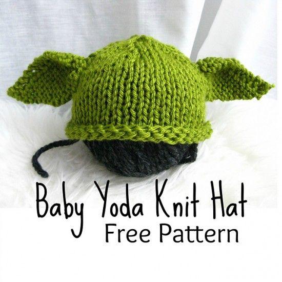 Crochet Yoda Hat2 Häkeln Pinterest Häkeln Stricken Und Mütze