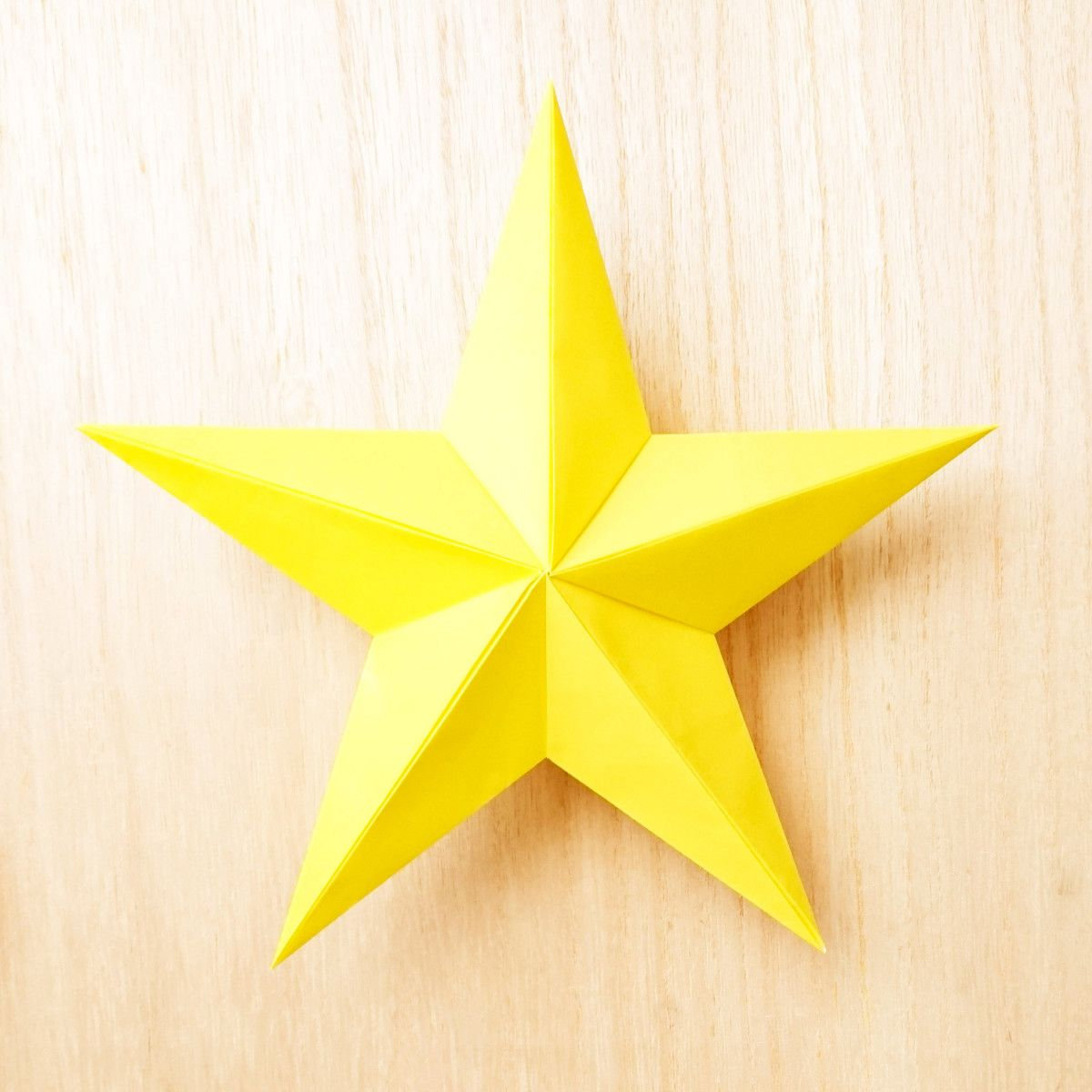 星 折り紙 作り方