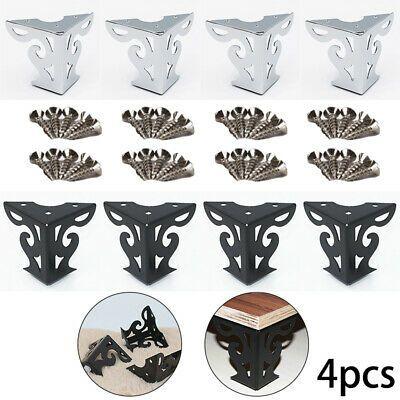 Advertisement 4pcs Set Tea Table Sofa Metal Legs Feet Furniture Couch Cupboard Cabinet Risers