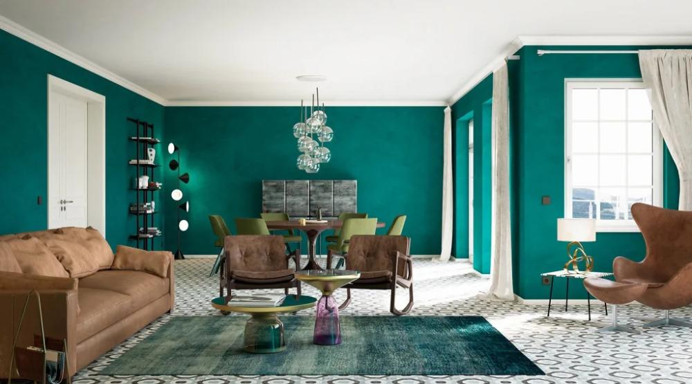 Wohnwelt Vintage Skandinavische Wohnzimmer Von Makasa